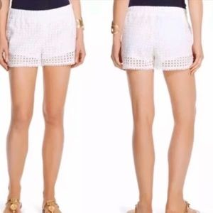 Lily Pulitzer for Target white lace shorts